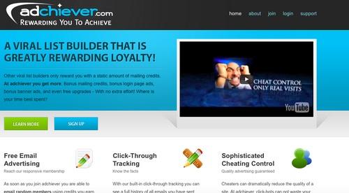 Adchiever, viral list mailer koji nagrađuje za lojalnost