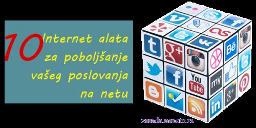 Internet alati za poboljšanje poslovanja na netu