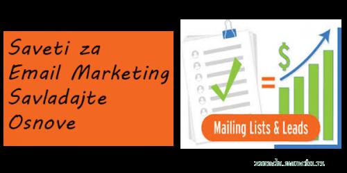nekoliko dobrih saveta za email marketing